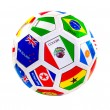 Soccer ball with flags — Foto Stock
