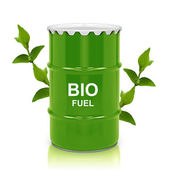 Bio fuel gallon — Stock Photo