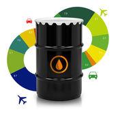 Petroleum Barrel  — Stock Photo