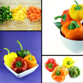 Healthy and organic food concept — Stock Photo