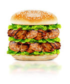 Delicious chicken burger  — Stock Photo