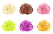 Ice Cream scoops — Stock Photo
