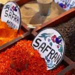 koření na trhu — Stock fotografie