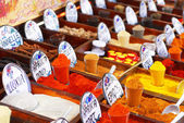Spices in the market — Stock Photo