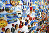 Tunisian souvenir magnet — Stock Photo
