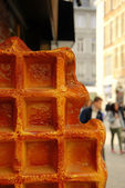 Waffel — Stock Photo
