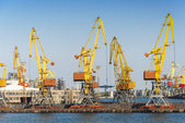 Odessa port — Stock Photo