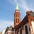 Frankfurt church in the place — Stock Photo