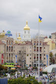 KIEV, UKRAINE - 24 AUGUST 2013 - Indipendence day — Stock Photo
