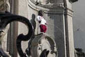 Manneken Pis — Stock Photo