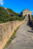 Tower on the great wall of China — Stock Photo