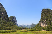 Limestone rock formations in South China — Stock Photo