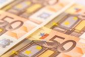 50 euro-bankbiljetten — Stockfoto