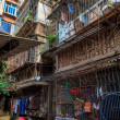 Stock Photo: Slum district of asicity