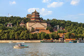 The summer palace in the city of Beijing — Stock Photo