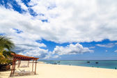 Beach resort on a sunny day — Stock Photo