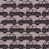 Seamless car grungy wallpaper — Stock Photo