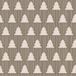 Stock Photo: Seamless pattern with christmas trees