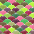 Abstract seamless geometric pattern — Stock Photo