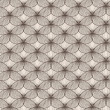Irregular abstract seamless grid pattern — Stock Photo