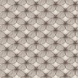 Stock Photo: Irregular abstract seamless grid pattern