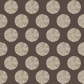 Seamless circles stump pattern — Stock Photo