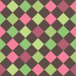 Seamless retro squares background — Stock Photo