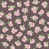Beautiful floral pattern — Stock Photo