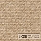 Realistic texture of burlap, canvas. — Stock Vector