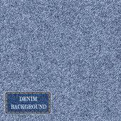 Pattern with denim jeans background. — Stockvector