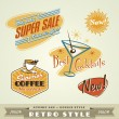 Royalty-Free Stock Vector Image: Vintage and retro labels, logo