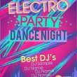 Royalty-Free Stock Vector Image: Electro party vector