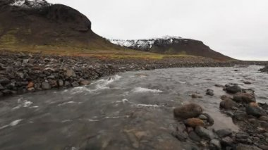 River in Iceland — Stock Video