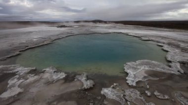 Solfatara Fields on Iceland - Stock Video — Wideo stockowe