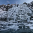 Winter waterfall — Stock Video #38137389