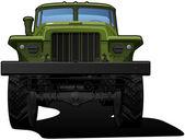Off-highway truck — Stock Vector