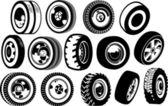 Wheels — Stock Vector