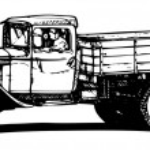 Vintage truck — Stock Vector #37392409