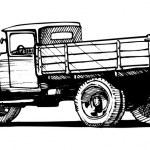 Vintage truck — Stock Vector #37613865