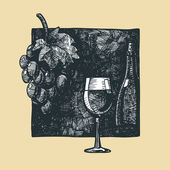 Vine — Stock Vector