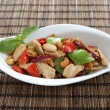 Chicken cashew nuts horizontal — 图库照片