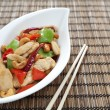 Stock Photo: Chicken cashew nuts