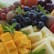 Fruit platter close-up — Stock Photo