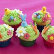 Easter themed cupcakes — Stock Photo #22295797