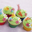 Easter cupcakes - Foto de Stock  