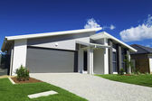 пригородные австралийский дом — Стоковое фото