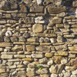 Medieval rock wall — Stock Photo