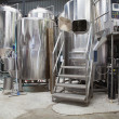 Stock Photo: Micro brewery