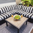 Outdoor lounge in summertime — Stock Photo #22924022