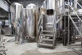 微型啤酒厂 — 图库照片